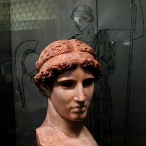 Atena Lemnia,Marmo pentelico, fine I sec. a.C. – inizi I sec. d.C.