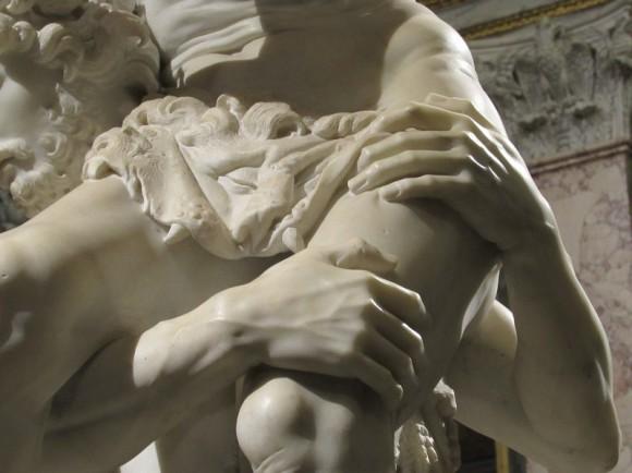ENEA CHE FUGGE DA TROIA CON ANCHISE SULLE SPALLE. G.L.Bernini, marmo, (1618-1619) Galleria Borghese- Roma