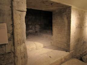 Scale che conducevano dal foro al tempio
