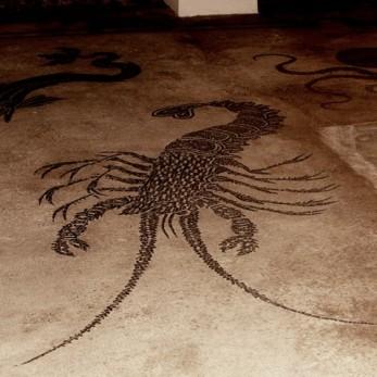 La bellissima Aragosta, Mosaico di Bevagna