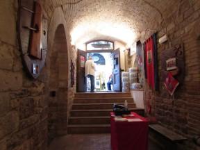 Osteria ricavata da antica bottega di fronte al Foro