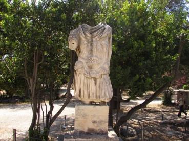 Busto di Adriano - Antica Agorà di Atene (130-132 AD)