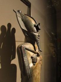 Statua votiva di Osiris, XXVI Dinastia, Museo Archeologico di Bologna , Mostra Egitto Splendore Millenario