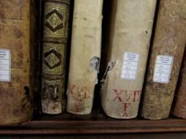 Libri con segni di schegge, Biblioteca Capitolare di Verona