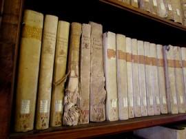 Libri danneggiati dal bombardamento, Biblioteca Capitolare di Verona