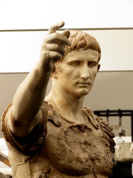 Augsto di Prima Porta. I sec d.C Musei Vaticani