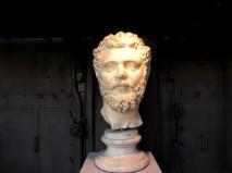 Ritratto di Settimio Severo 197-211 d.C Centrale Montemartini, Roma