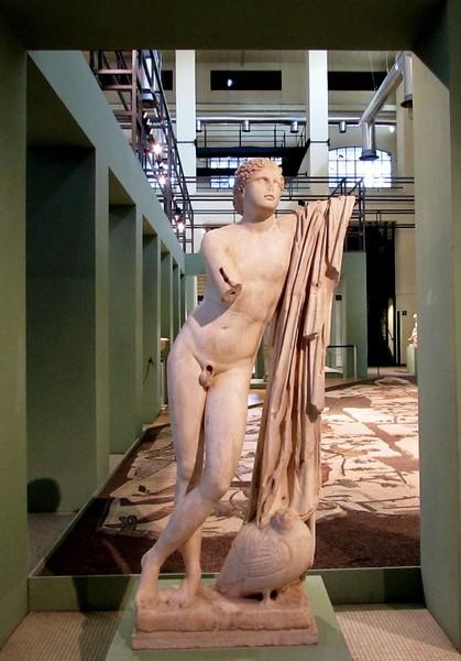 Pothos da originale di Skopas, II sec d.C Centrale Montemartini Roma