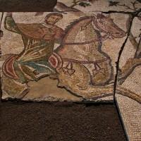Il mosaico della caccia. Horti Liciniani