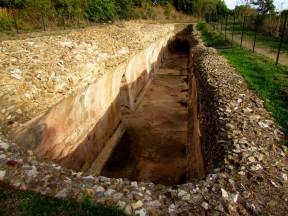 Cisterna monumentale di età imperiale