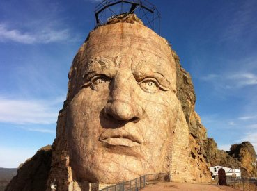 Crazy Horse Memorial - Thunder Mountain, South Dakota - foto da dexpa.ca/blogs/projects