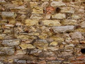 Struttura dei grandi pilastri e murature