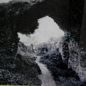 Foto del grande corridoio, inizio secolo scorso
