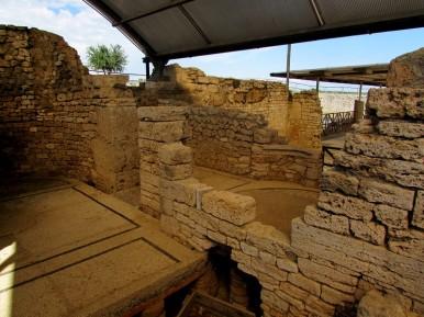 Area termale - Casa del Criptoportico-Vulci