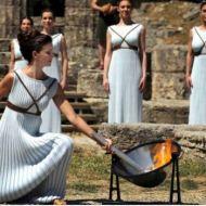 Cerimonia accensione della fiaccola ad Olimpia 22 Aprile 2016, photo internet source