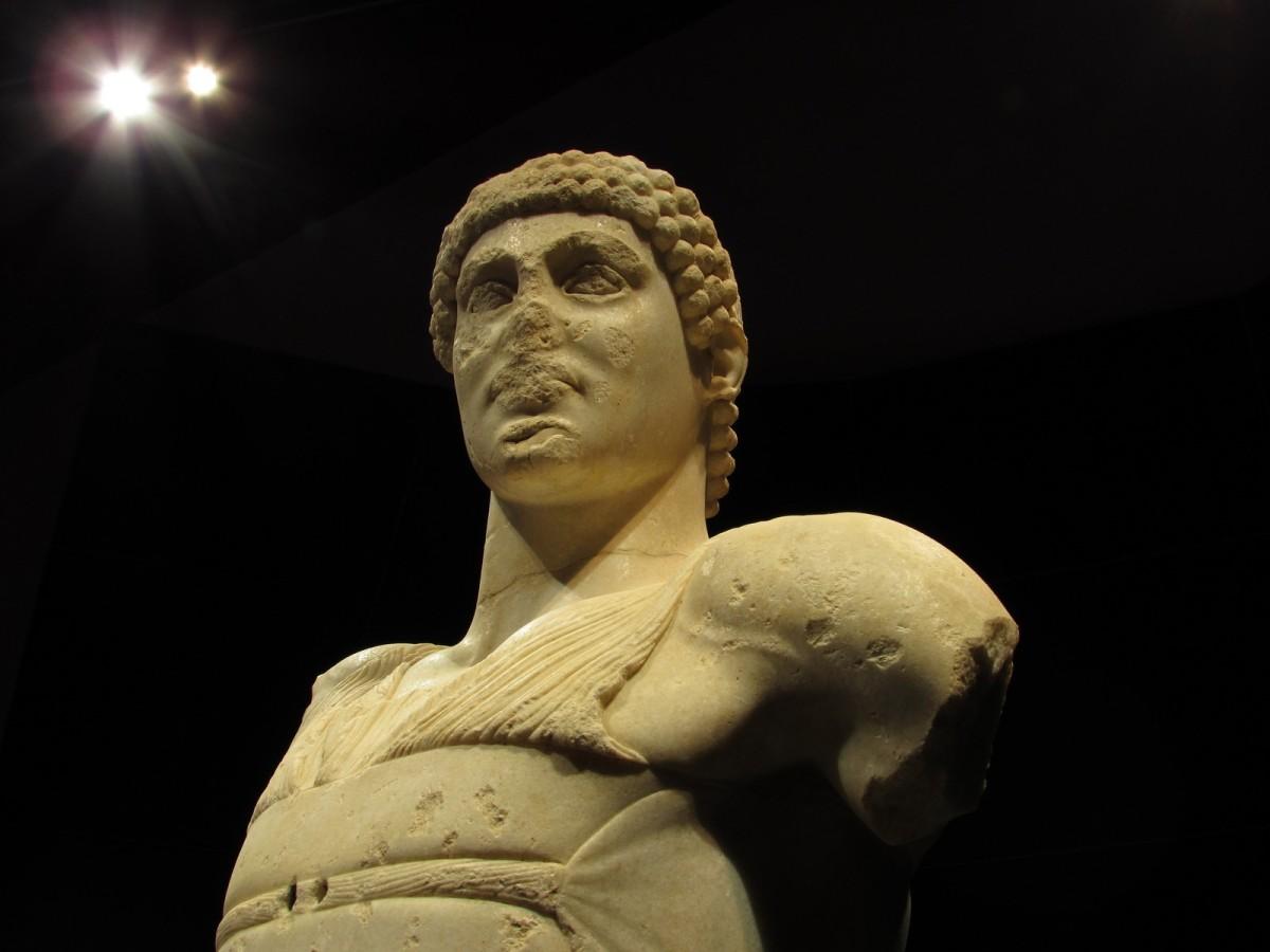 Il vero principe di Mozia. Un auriga bello come un dio greco.