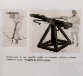 Ricostruzioni delle catapulte - Museo Archeologico G.Whitaker