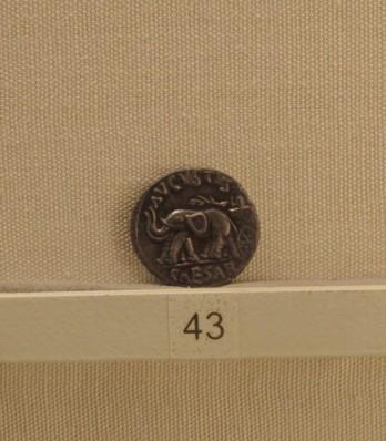 Moneta augustea - 19 a.C - Palazzo Massimo