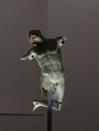 Il Satiro Danzante IV secolo a.C - Museo del satiro Mazara del Vallo