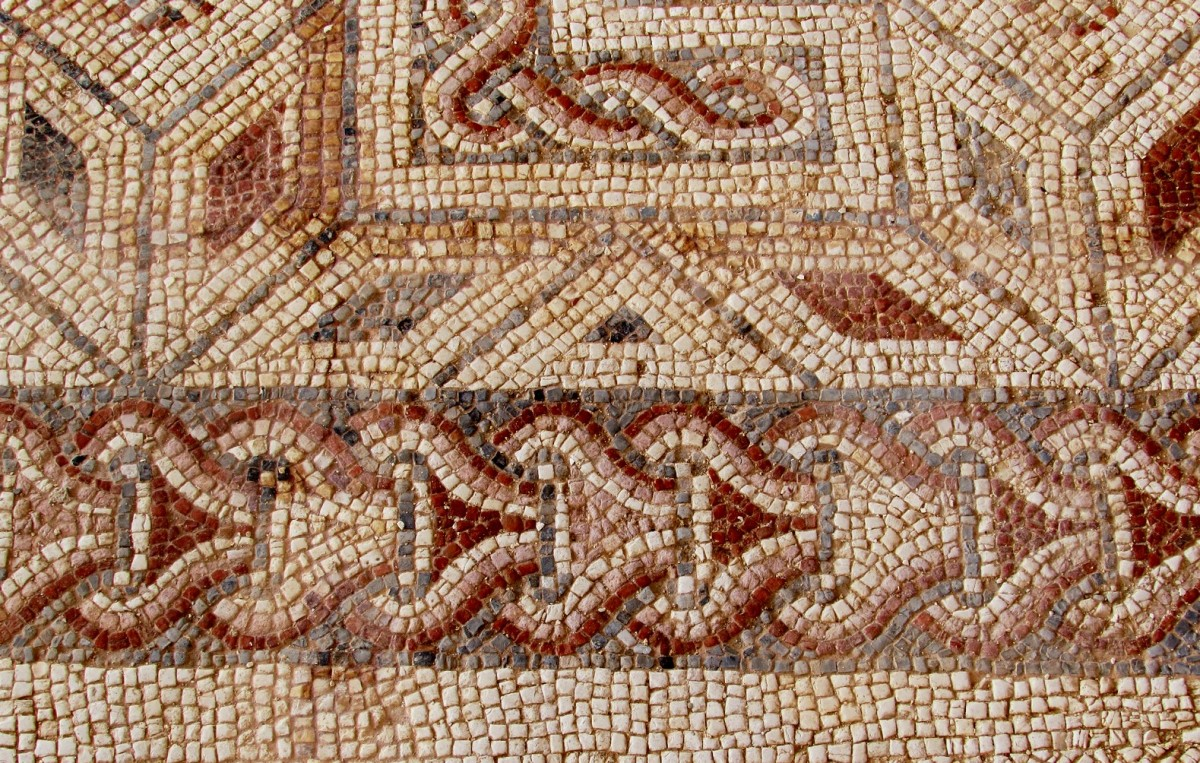 I mosaici della villa romana di Lilibeo.